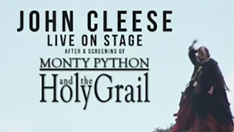 John Cleese Live After Screening the Holy Grail