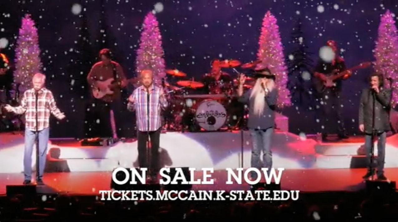 Christmas In The Oaks 2019.Oak Ridge Boys Mccain Performance Series Kansas State