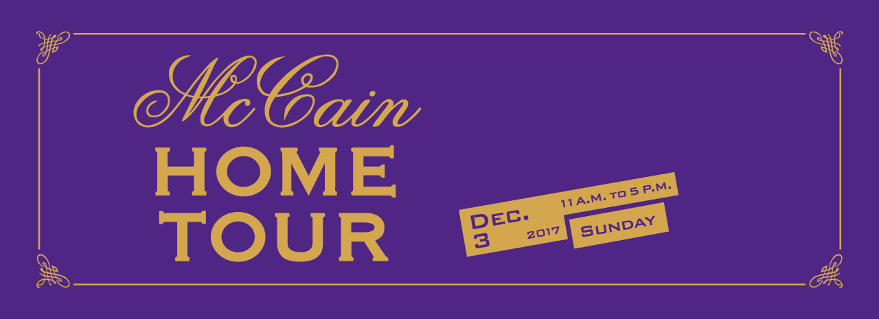McCain Holiday Home Tour