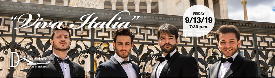 "The Four Italian Tenors: ""Viva Italia"""