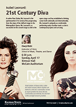 McCain conversations - Sharon Isbin, Guitar and Isabel Leonard, Mezzo-Soprano