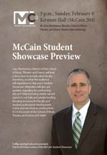 McCain Student Showcase Preview