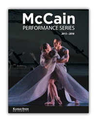 2015-2016 McCain Performance Series Season Brochure