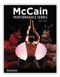 2014-2015 McCain Performance Series Season Brochure